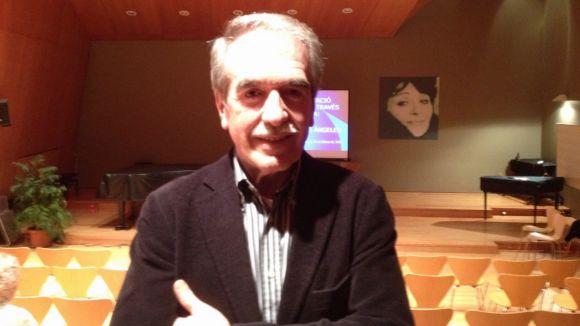 Miguel Lerín, després de l'entrevista a Cugat.cat