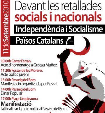 El col·lectiu Endavant se sumarà a la manifestació que es farà a Barcelona