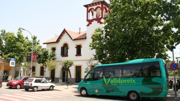 Les obres del carrer de Brollador canvien el recorregut de les línies 1, 3 i 4 de bus de Valldoreix