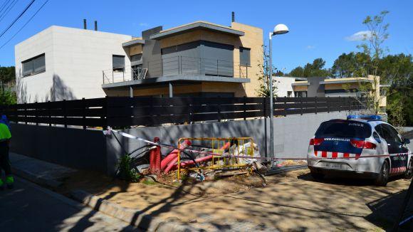 Casa on s'ha produït el desallotjament