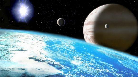 Representació artística d'un planeta extrasolar gegant / Foto: Creative Commons