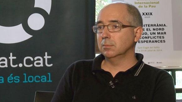 Xavier Casals (Unipau): 'Als partits d'ultradreta se'ls ha de combatre amb idees' (2014)