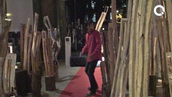 Leña de Luxe presenta el seu art 'trencador' al Museu del Monestir