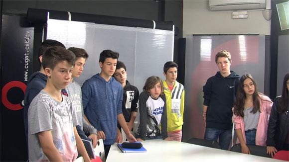 Alumnes de 2n d'ESO de l'institut Leonardo da Vinci - Grup 1 - 19 d'abril de 2016