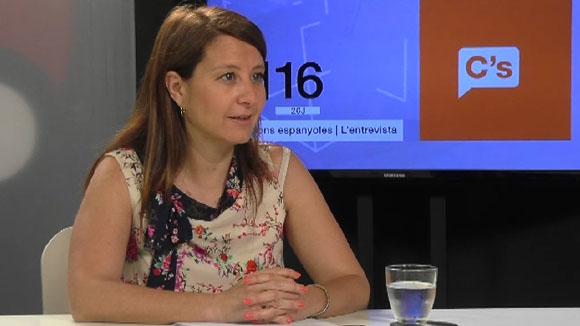 Entrevista amb Sonia Sierra, de C's (Eleccions espanyoles 2016)