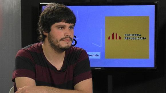 Entrevista amb Èric Gómez, d'ERC (Eleccions espanyoles 2016)