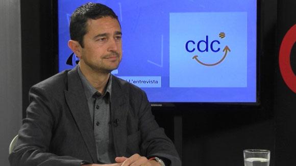 Entrevista amb Damià Calvet, de CDC (Eleccions espanyoles 2016)