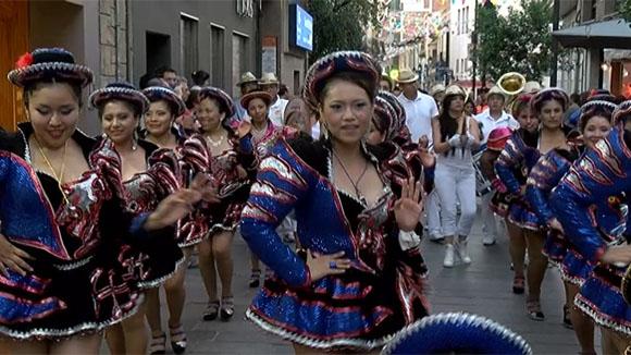 Rua de balls tradicionals: De Bolívia a Sant Cugat