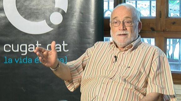 Arcadi Oliveres 'Hem de desarmar les consci�ncies: entendre que la militaritzaci� no ens protegir� m