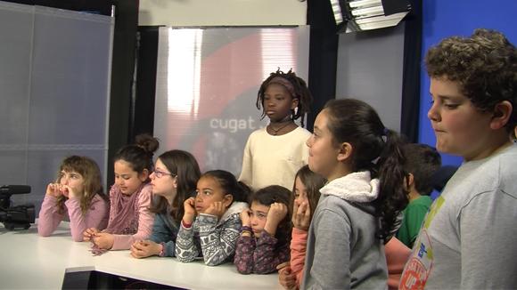 Alumnes de 4t de l'escola Collserola - grup 1- 09 de març del 2017