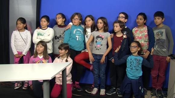 Alumnes de 4t de l'escola Collserola - grup 2- 09 de març del 2017