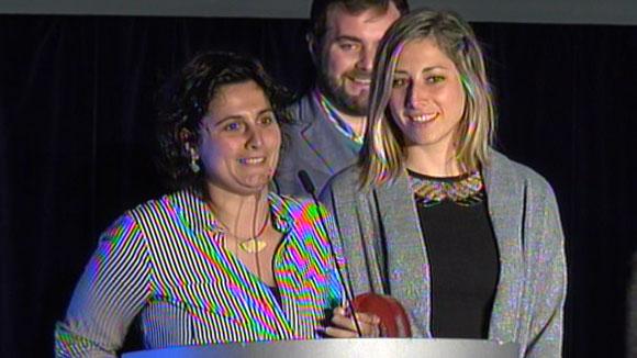 Discurs jugadores Patí Hoquei Club Sant Cugat femení