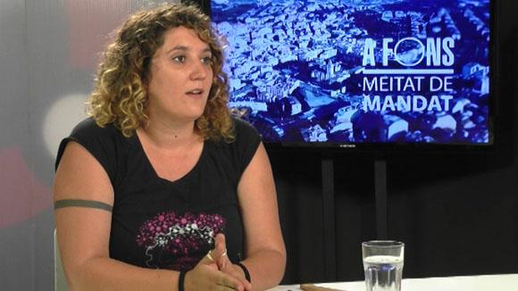 Entrevista amb Núria Gibert sobre la meitat de mandat