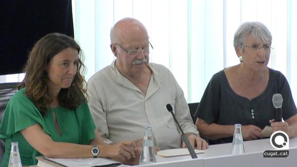 Ple extraodinari, Joan Tortosa fill predilecte de Sant Cugat - 24 de juliol del 2017