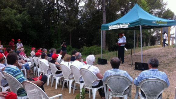 El 'Bosc Literari' es converteix en una de les portes d'entrada a Collserola