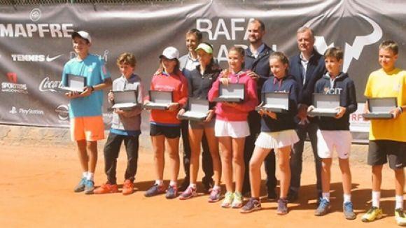 El Torneig Rafa Nadal de tennis reunirà  600 tennistes infantils i alevins al Club Esportiu Valldoreix